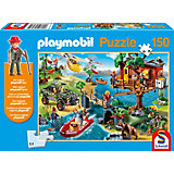 Puzzle Playmobil (inkl. Figur), Baumhaus, 150 Teile