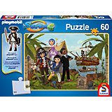 Puzzle SUPER4 (inkl. Figur) Gunpowder Island 60 Teile