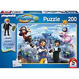 Puzzle SUPER4 (inkl. Figur) Technopolis 200 Teile