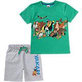YAKARI Set T-Shirt + Bermuda für Jungen