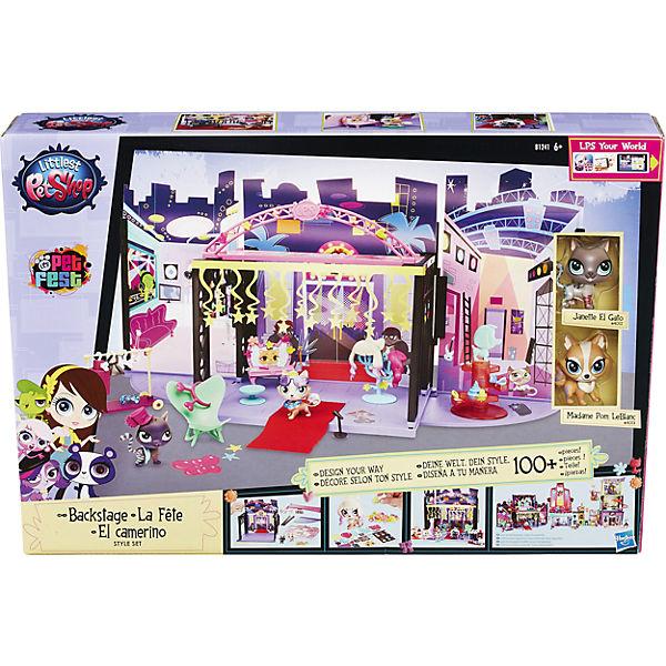 """Игровой набор """"За кулисами"""", Littlest Pet Shop"""