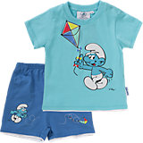 SCHLÜMPFE Baby Set T-Shirt + Hose für Jungen