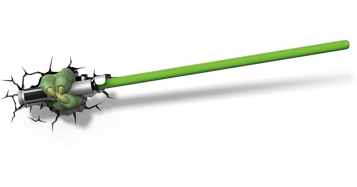 3D Licht Star Wars Yoda Lichtschwert (Wandlampe)