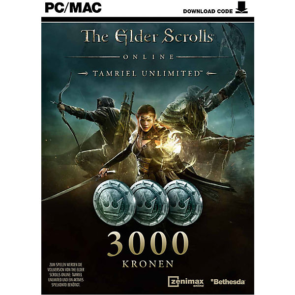 PC The Elder Scrolls Online-T.U. 3000 Kronen Karte