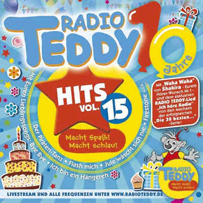 CD Radio Teddy Hits Vol.15-Diverse