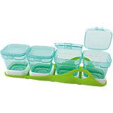 Aufbewahrungsbecher für Babynahrung, Multi-Boxen, 4-in-1