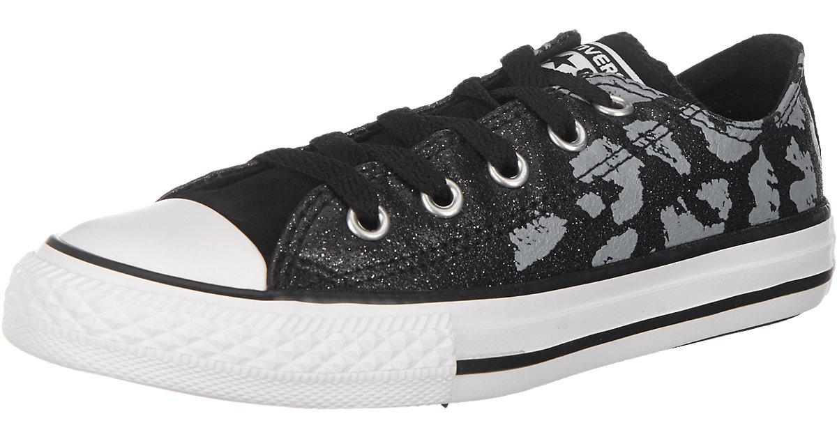 Chuck Taylor Kinder Sneakers schwarz/weiß Gr. 34 Mädchen Kinder