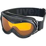 Skibrille Hurricane black