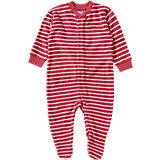 LIVING CRAFTS Baby Schlafanzug für Mädchen Organic Cotton