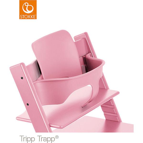 tripp trapp baby set soft pink stokke mytoys. Black Bedroom Furniture Sets. Home Design Ideas