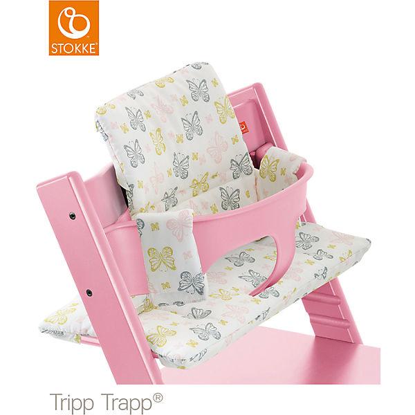 tripp trapp sitzkissen sweet butterflies stokke mytoys. Black Bedroom Furniture Sets. Home Design Ideas