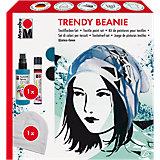 Fashion-Spray Trendy Beanie Textilfarben-Set, 3-tlg.