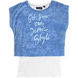 T-Shirt für Mädchen, Doppelpack