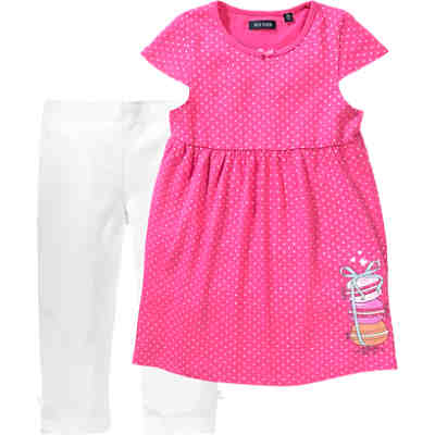 Kinder Set Kleid + Caprileggings