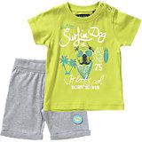 Baby Set T-Shirt + Bermudas für Jungen