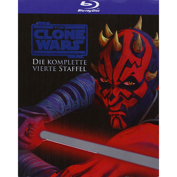 BLU-RAY Star Wars: The Clone Wars - Season 4