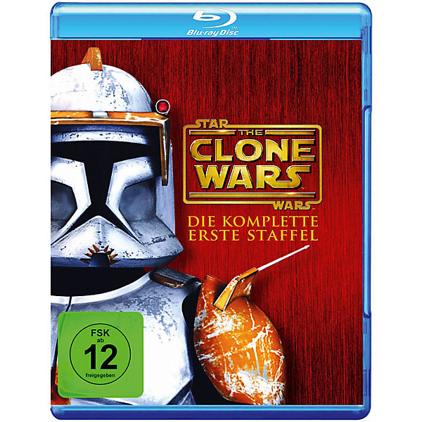 BLU-RAY Star Wars: The Clone Wars - Die komplette erste Staffel (3 Blu-ray Discs)