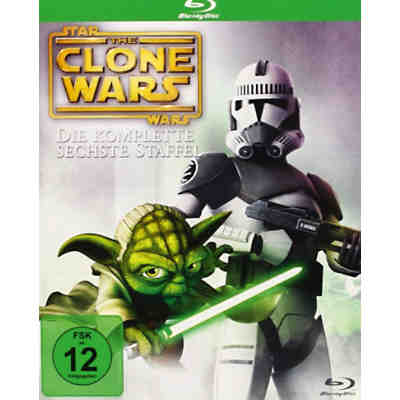 BLU-RAY Star Wars: The Clone Wars - Season 6