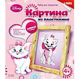 """Картина из пластилина """"Кошка Мари"""""""