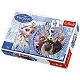 Puzzle 60 Teile - Die Eiskönigin