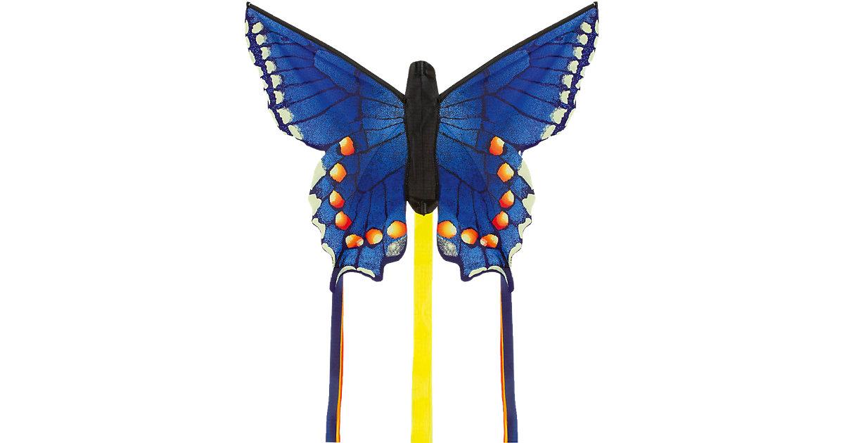 Butterfly Kite Swallowtail Blue ´´R´´ bunt