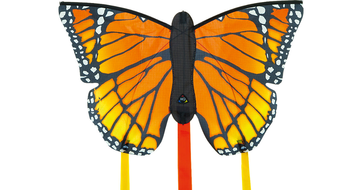 Butterfly Kite Monarch ´´R´´ bunt
