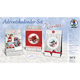 Kreativset Adventskalender-Set Winter