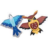 Drachen Adler und Eule