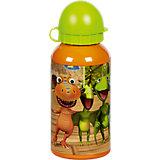Alu Trinkflasche Dino Zug, 400 ml