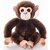 """Мягкая игрушка """"Обезьянка тёмно-коричневая"""", 28 см., AURORA"""