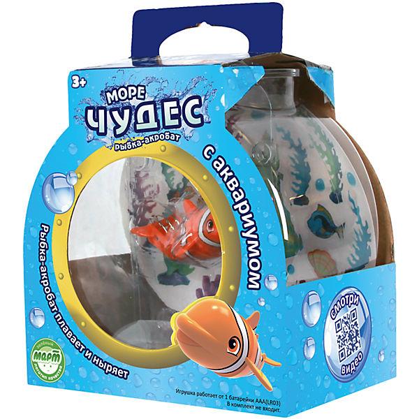Море чудес Рыбка-акробат с аквариумом, Море чудес