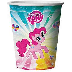"""Стакан бумажный """"My little pony"""", 6 шт"""