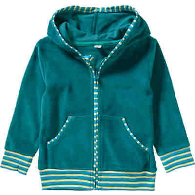 LEELA COTTON Baby Nickyjacke Organic Cotton