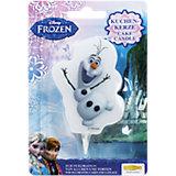 Kuchenkerze Frozen Olaf
