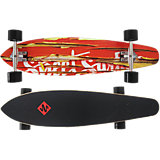 "Streetsurfing® Longboard Kicktail 36"" - Damaged Orange"