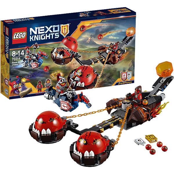 LEGO 70314 Nexo Knights Chaos-Kutsche des Monstermeisters
