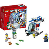LEGO 10720 Juniors: Verfolgung mit dem Polizeihelikopter