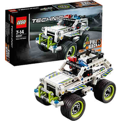LEGO 42047 Technic Polizei-Interceptor
