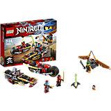 LEGO NINJAGO 70600: Погоня на мотоциклах