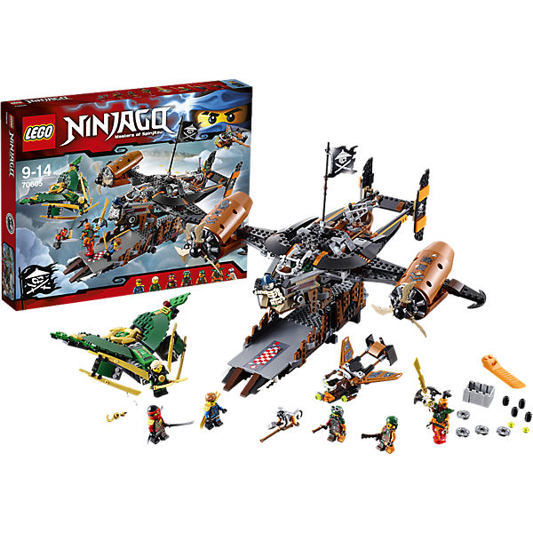 LEGO NINJAGO 70605: Цитадель несчастий