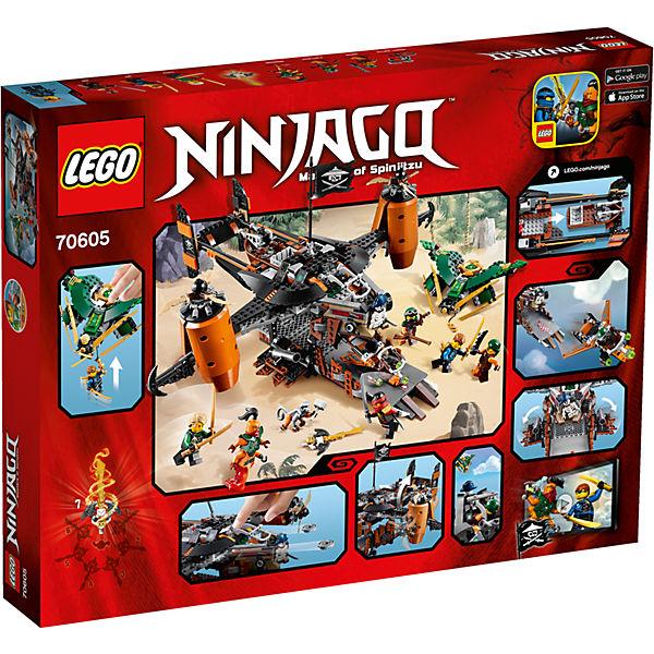 Lego 70605 ninjago luftschiff des ungl cks lego ninjago for Kinderzimmer ninjago