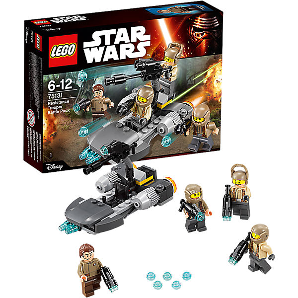LEGO Star Wars 75131: Боевой набор Сопротивления