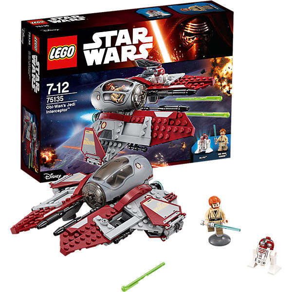 LEGO Star Wars 75135: Перехватчик джедаев Оби-Вана Кеноби™
