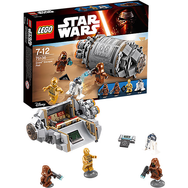 LEGO 75136 Star Wars Droid™ Escape Pod