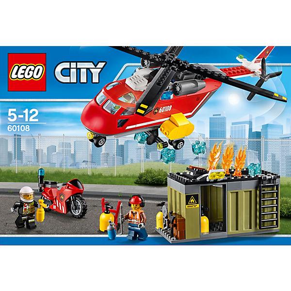 LEGO City 60108: Пожарная команда быстрого реагирования