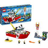 LEGO City 60109: Пожарный катер