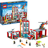 LEGO 60110 City Große Feuerwehrstation