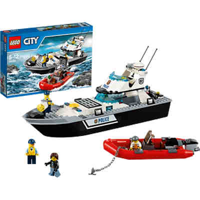 LEGO 60129 City Polizei-Patrouillen-Boot
