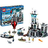 LEGO 60130 City Polizeiquartier auf der Gefängnisinsel