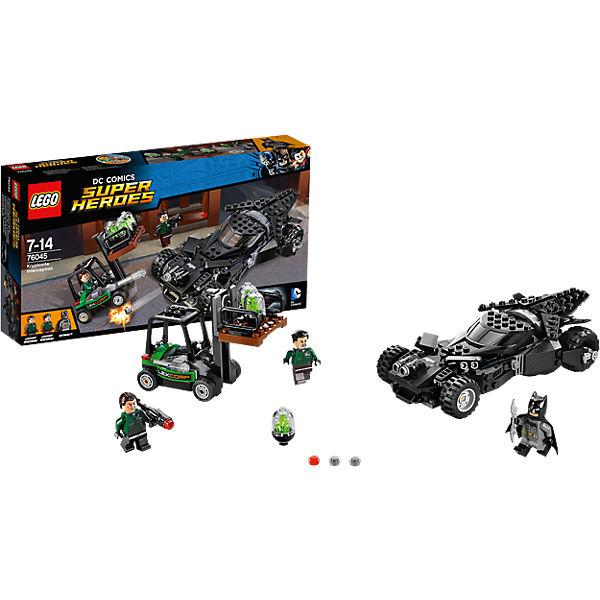 LEGO 76045 Super Heroes: Kryptonite Interception